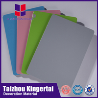 Alucoworld unbroken core exterior decorating aluminium composite panels outdoor sign board material