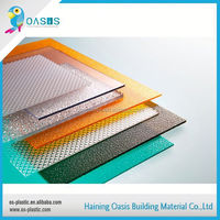 Excellent factory directly plastic building materials solid polycarbonate sheets