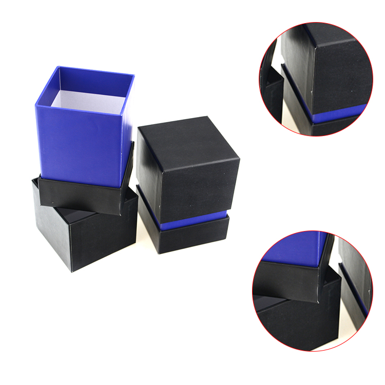 Custom black paper bow tie box wholesale luxury gift box packaging with custom logo