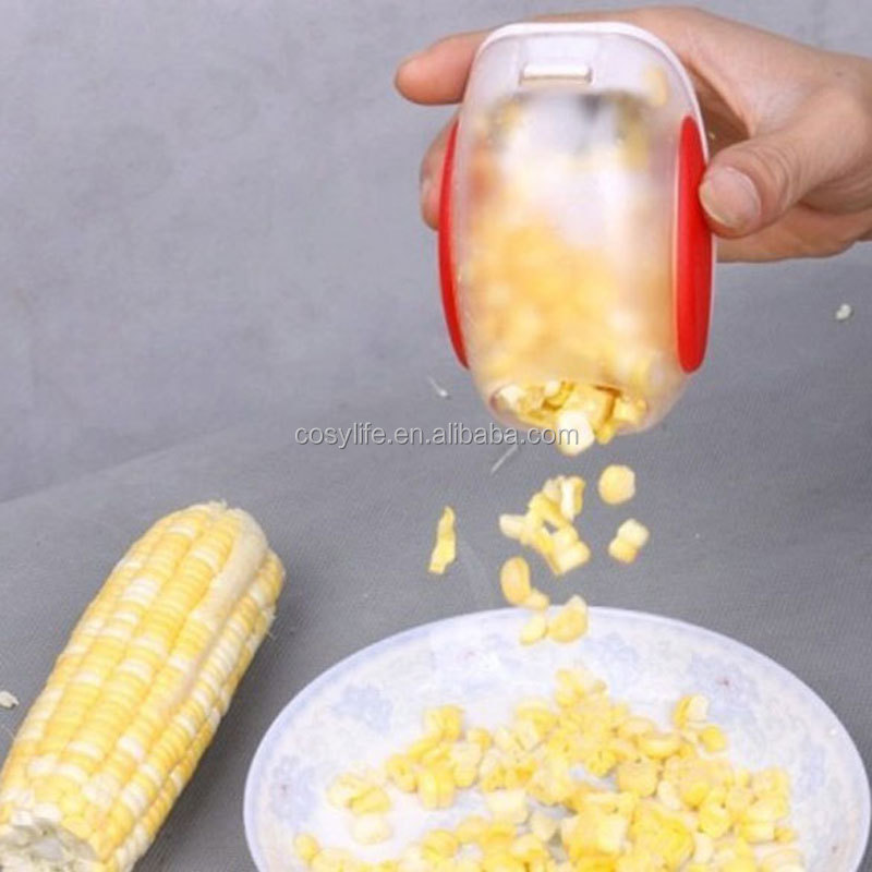 Corn Stripper, Corn Cob Peeler with Hand Protector,Kitchen Good Helper