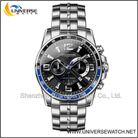 Fashion cheap customized personalized stainless steel chain wrist watch