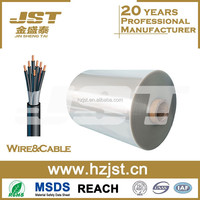 100 micron thick transparent polyester PET film for cable wire and packaging