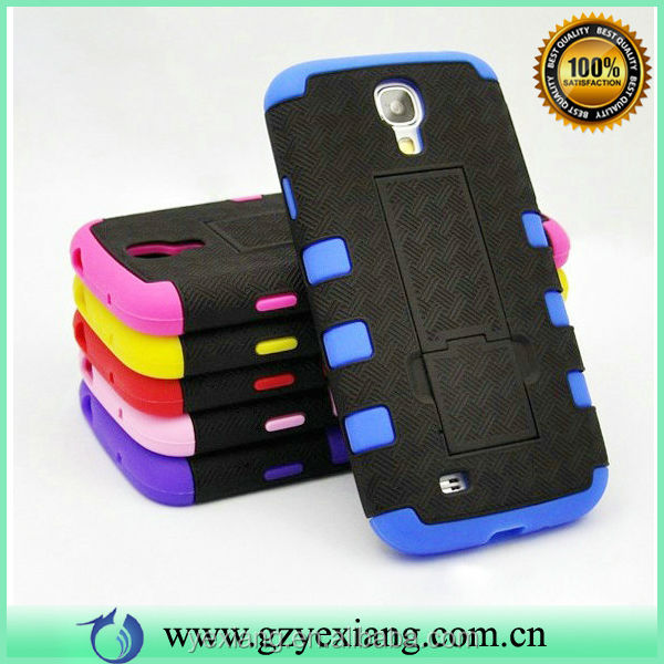 Alibaba Supplier Handphone Case For Samsung Galaxy S4 3 In 1 Case