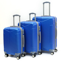 "Light Weight Trolley Suitcase, High Quality 3pcs 20"" 24"" 28"" Travel Luggage Set, Urtralight Fashion ABS PC Trolley Luggage"