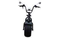 Popular electric scooter new big tire city motorcyle with two seat