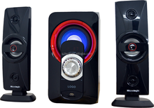Factory Direct 2.1ch High Quality Speakers with Wooden Case Surround Sound
