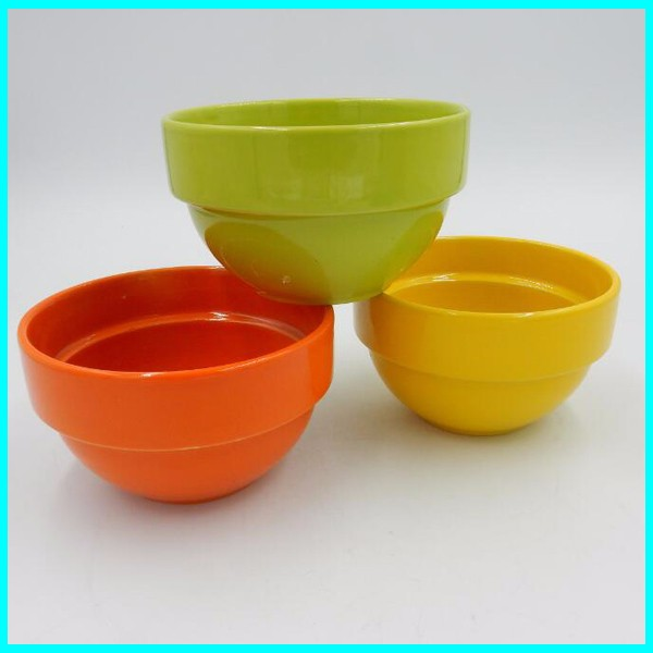 ceramic glaze bowl stack bowl 4 set for tableware/promotion gift