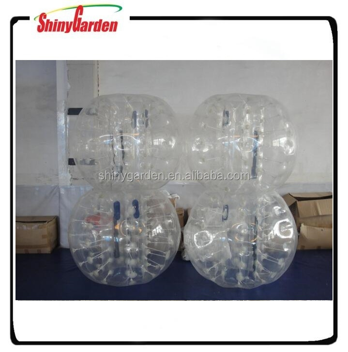1.5m PVC inflatable bumper ball soccer bubble for game