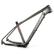 china suppliers superlight carbon mtb frame 27.5 650b with 15.5 16.5 17.5inch option