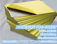 pvc photo album self-adhesive sheets, adhesive pvc sheet for inner pages