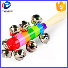 Children Toys New 2017 Style Wooden Educational Toys Rainbow Rattles