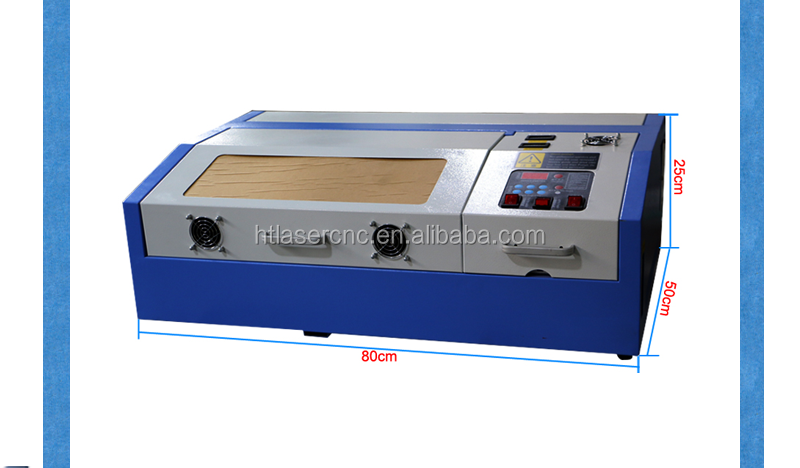 New design cheap 40w mini portable rubber stamp laser engraving machine