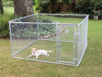 hot-dipped galvanized Chain Link Panel for enclosure dog kennel