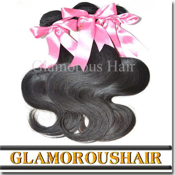 Top quality Natural Color body wave grade 7a virgin hair