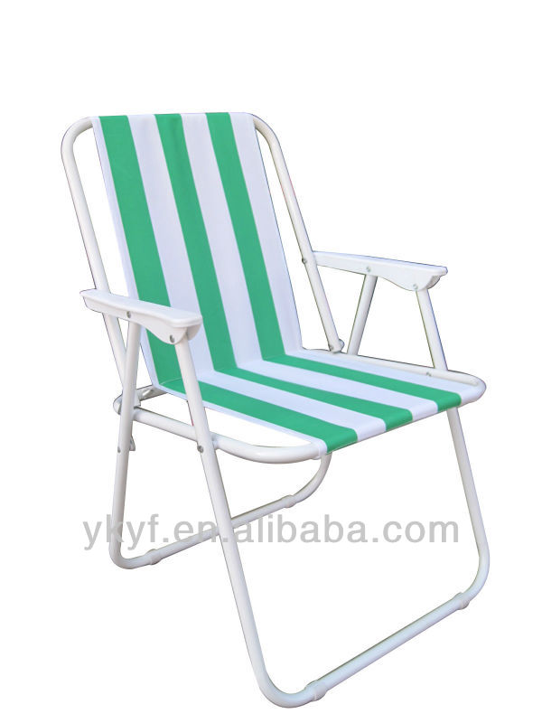 Trade assurance Popular Foldable Spring Beach Chair with great weight capacity