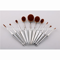 Top grade attractive style premium makeup brush set