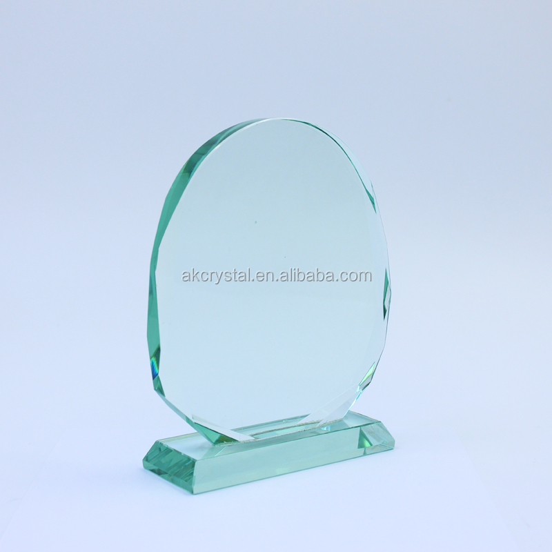 Sunflower shape jade awards from factory