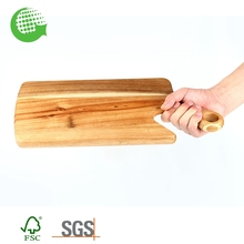 Wholesale Custom Wooden Bamboo Long Vegetable Cutting Board Cheap