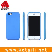 Alibaba China Factory Hybrid PC+Silicone Back Case for iPhone 6 Case
