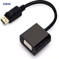 Wholesale mini displayport DP to HDMI DVI VGA adapter connector converter cable