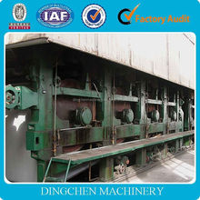 2014 new arrival 1575mm production and flute used paper making machine