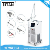 RF tube CO2 fractional laser vaginal tightening machine with EU medical CE and ROHS