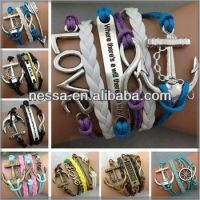 custom woven friendship bracelets
