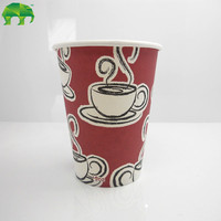 paper cup machine korea 8oz single wall paper cup black espresso hot paper cups