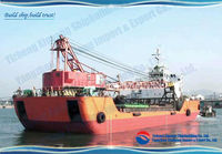 New Build Self Propelled Deck Barge LCT for Sale