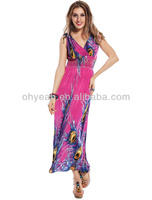 Lowest price wholesale maxi dress muslim