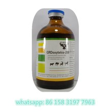 Tetracycline antibiotics Oxytetracycline 20% injection for animal use with GMP