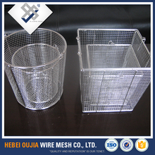 durable rectangular small stainless steel wire mesh baskets for western style