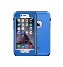 100% Sealed Waterproof Shockproof DustProof Full Body Protect TPU Fingerprint Touch ID Cell Phone Cover Case For iPhone 6