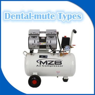 Piston Type Dental Silent Oil-free Air Compressor