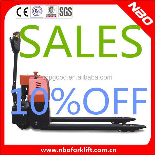 NBO 1.5 ton electric pallet truck for sale, mini trucks