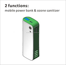 2 in 1 portable power bank for gionee mobile phone & mini ozone sterilizer