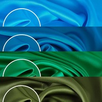 24 colors 16.5mm solid silk satin sleepwear fabric