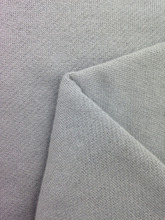 langhui textile gray color 100% cotton french terry for fleece fabric
