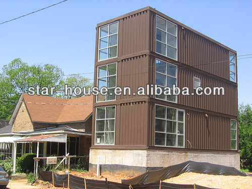durable movable modular container villa prefabricated villa