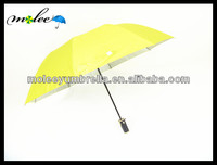 Cheap Auto 2 Folding Advertising Umbrella