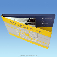 popular A5 size 5inch lcd screen video brochure,video brochure card