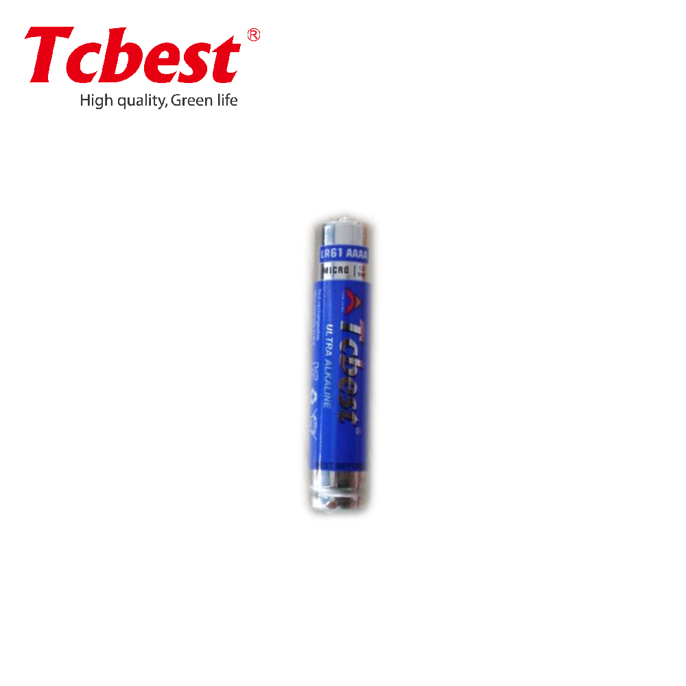 Small cylinder 1.5v alkaline aaaa battery/