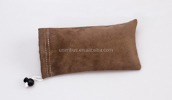 Wholesale Eyeglass Soft microfiber,faux suede pouch /sunglasses bag/sun glass case