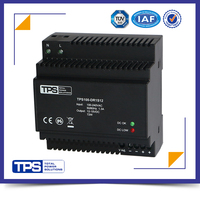 shanghai TPS AC full range input 100W 12V 6.5A switching mode din rail power
