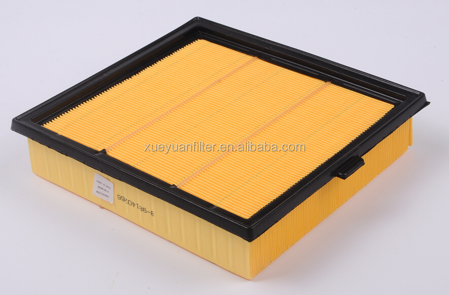 good quality air filter XUEYUAN 8-98140266 MADE IN CHINA
