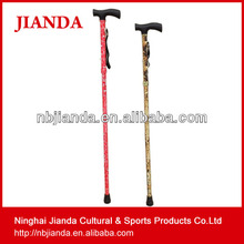 Blue Trekking Hiking Stick T Handle 6061 Aluminum Alloy Sticks Walking Stick JD-5G-002-3