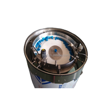 Customized double-centrifugal disk plastic shampoo's cap automatic screw vibrating feeder