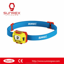 rechargeable head lamp sunree mini2 led custom elastic bands for headlamp