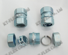 Liquid tight stainless steel straight 304 female thread fitting