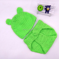 Baby Costume Photo Photography Prop Knit Crochet Beanie Animal Hat Cap Sets